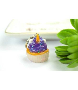 """Cute Clay """"Thermal Farbwechsler Einhorn-Cupcake II"""" - Schlüsselanhänger"""