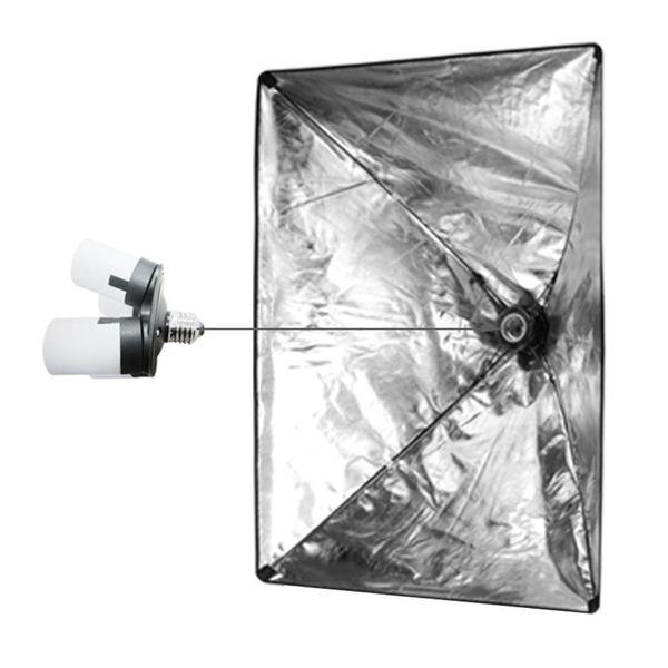 8 lampen Fotostudio Fotografie Set 50x70 softbox continulicht studiolicht daglicht