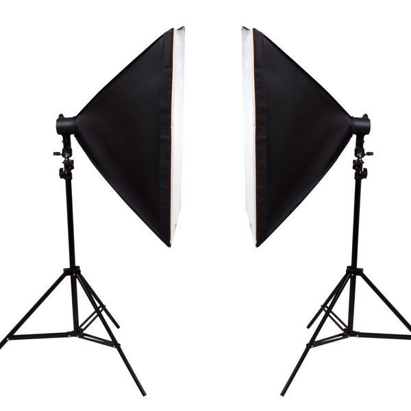 Fotostudio set - 4 Softbox - opnametafel - 1000W Fotografie