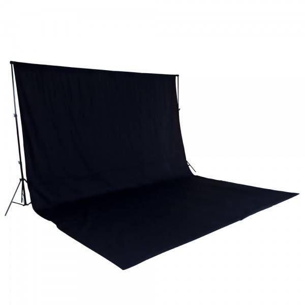 XXL Fotodoek / achtergrond voor fotostudio met statieven