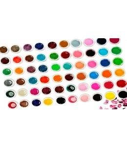 60 Kleuren uv gel color gel gelnagels