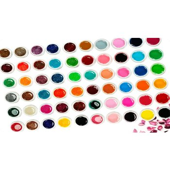 60 Kleuren uv gel color gel gelnagels