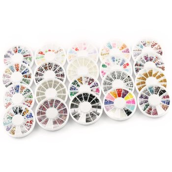 Fimo - Nail art - Acryl - Strass - Glitters