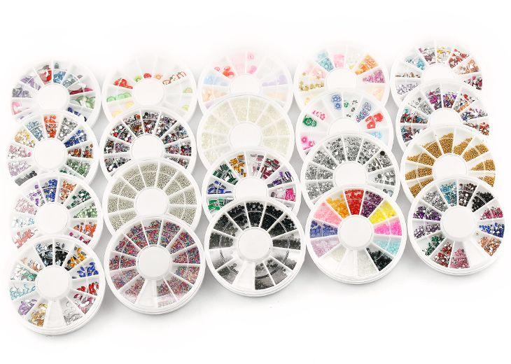 Acryl Glitter Nailart Gelnagels Glitterpoeder Stamping