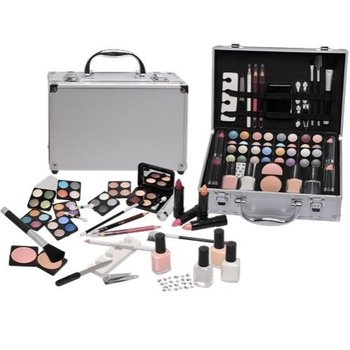 56 delige make up set - makeup - koffer beautycase