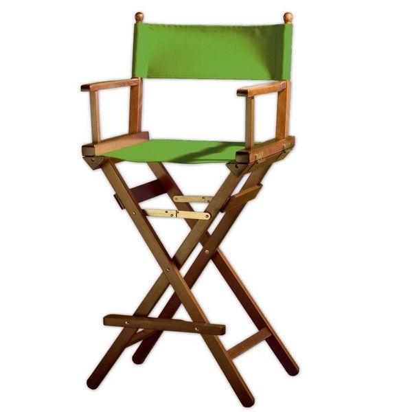 Professionele make up stoel - visagie - regisseurstoel - Regisseursstoel  -120 cm hoog-