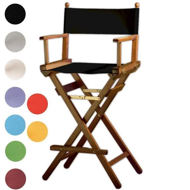 Professionele make-up stoel - Visagie stoel - Regisseursstoel