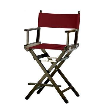 Professionele make up stoel - visagie - regisseurstoel - Regisseursstoel -Bordeaux- ACTIE