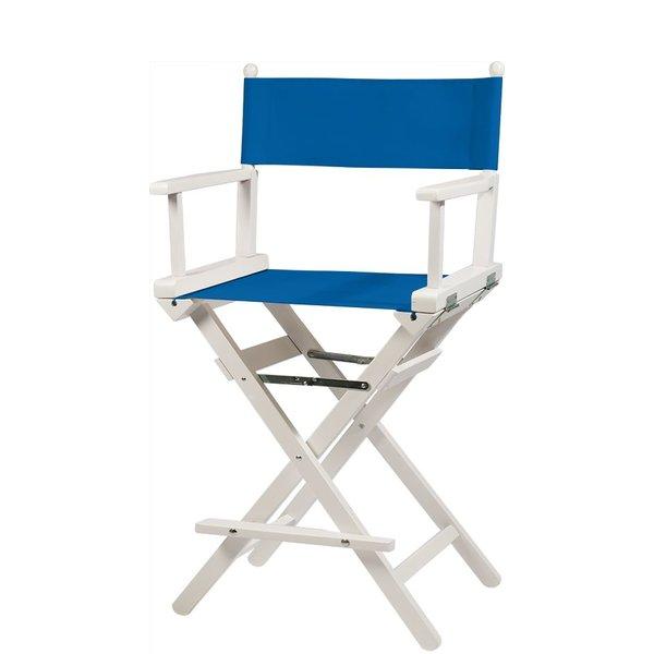 Professionele make up stoel - visagie - regisseurstoel - Regisseursstoel -Donkerblauw- ACTIE