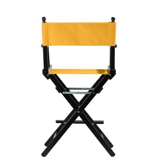 Professionele make up stoel - visagie - regisseurstoel - Regisseursstoel -GEEL- ACTIE