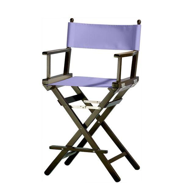 Professionele make up stoel - visagie - regisseurstoel - Regisseursstoel -Lila- ACTIE