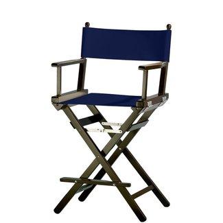Professionele make up stoel - visagie - regisseurstoel - Regisseursstoel -Marine- ACTIE