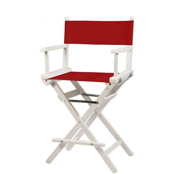Professionele make up stoel - visagie - regisseurstoel - Regisseursstoel -ROOD- ACTIE