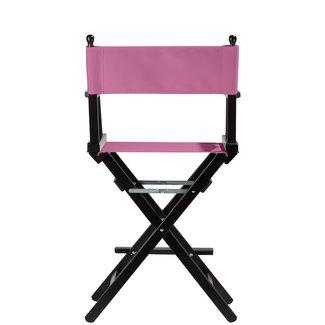 Professionele make up stoel - visagie - regisseurstoel - Regisseursstoel -Roze- ACTIE