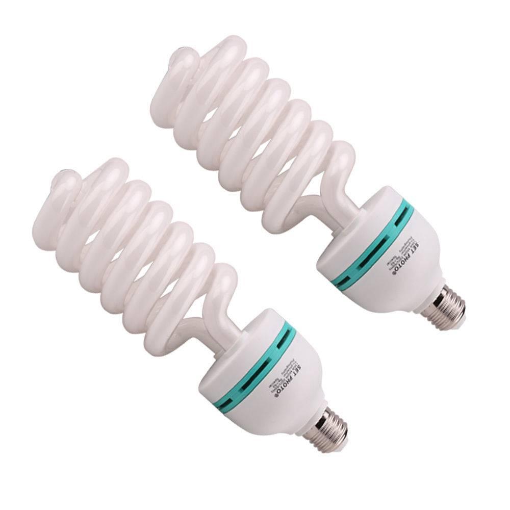 2 x foto lampen spiraal lampen 135w daglicht spaarlampen for Foto lampen