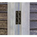 Kamerscherm - Louvre - Kamerverdeler - Brocante - 3 panelen - Grijs-Bruin