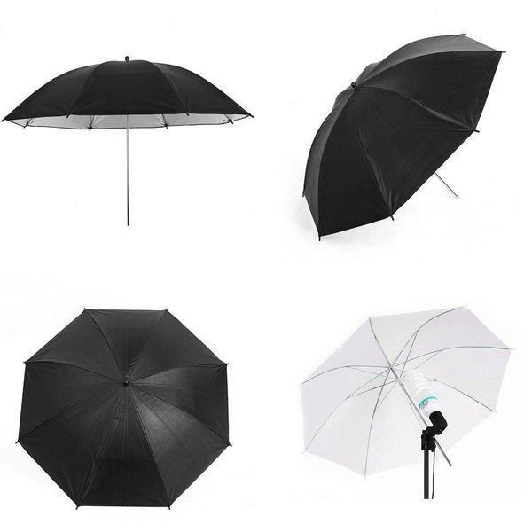 Complete fotostudio set van 3 kleuren achtergronden - Achtergrondsysteem - Lichtparaplus - Softbox
