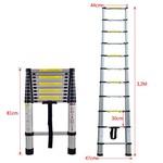 Telescopische Ladder 320 cm Telescoop Ladder