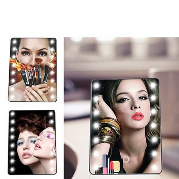 Make Up spiegel met LED verlichting en touch
