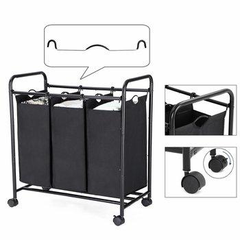 Waswagen wasmand waskorf op wieltjes