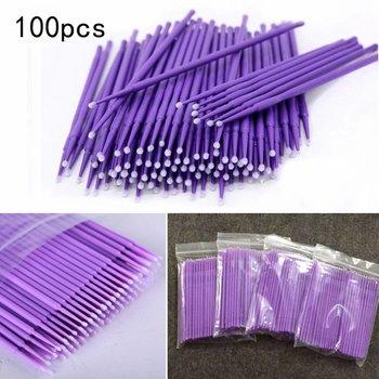 100 x Microbrush reinigingsstaafjes 1.5 mm voor Wimperuitbreiding Microblading