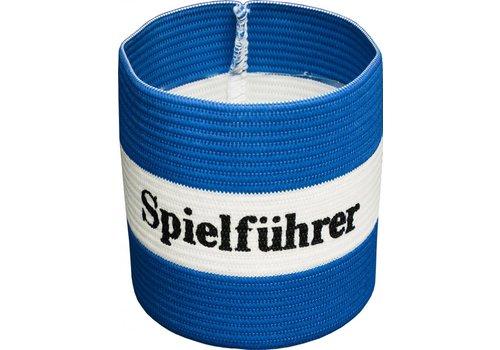 Agility Sports aanvoerdersband 'Spielführer' blauw