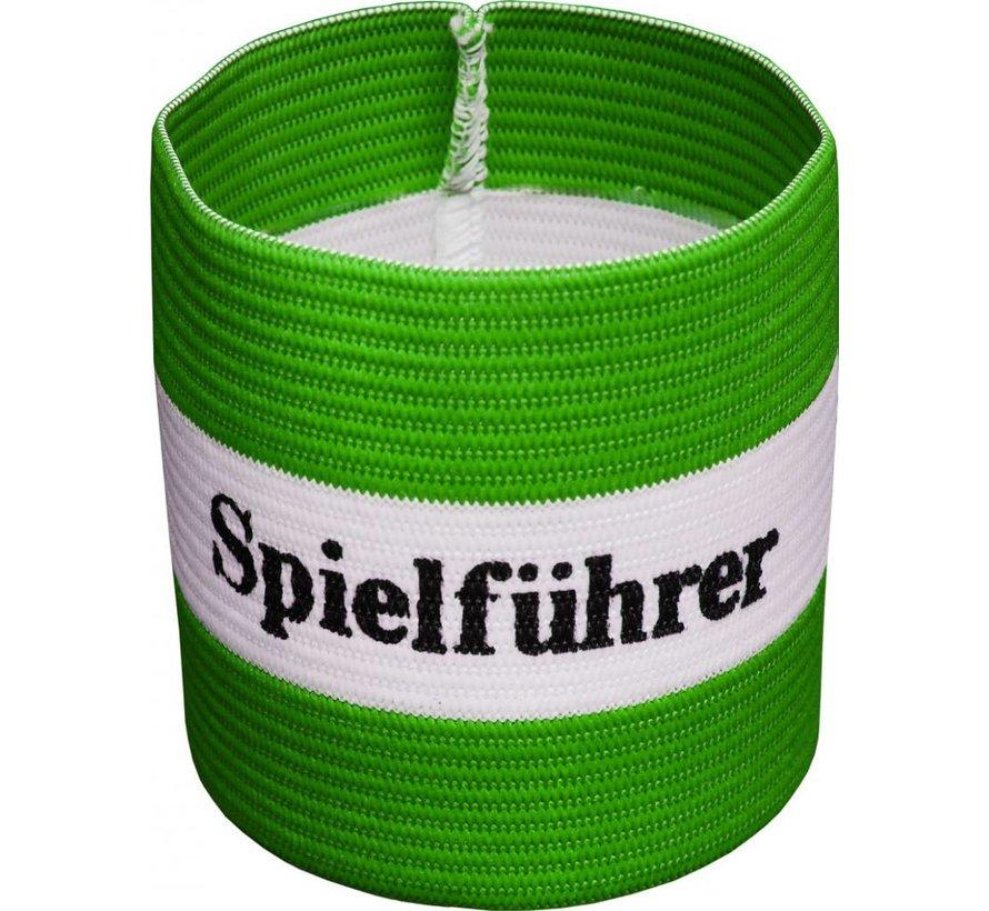aanvoerdersband 'Spielführer' groen
