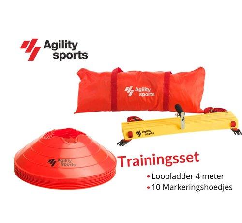 Agility Sports Trainingsset Rood