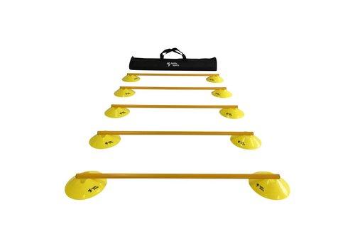 Agility Sports Horden Set - 5 Horden - Geel