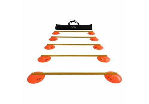 Agility Sports Horden Set - 5 Horden - Oranje