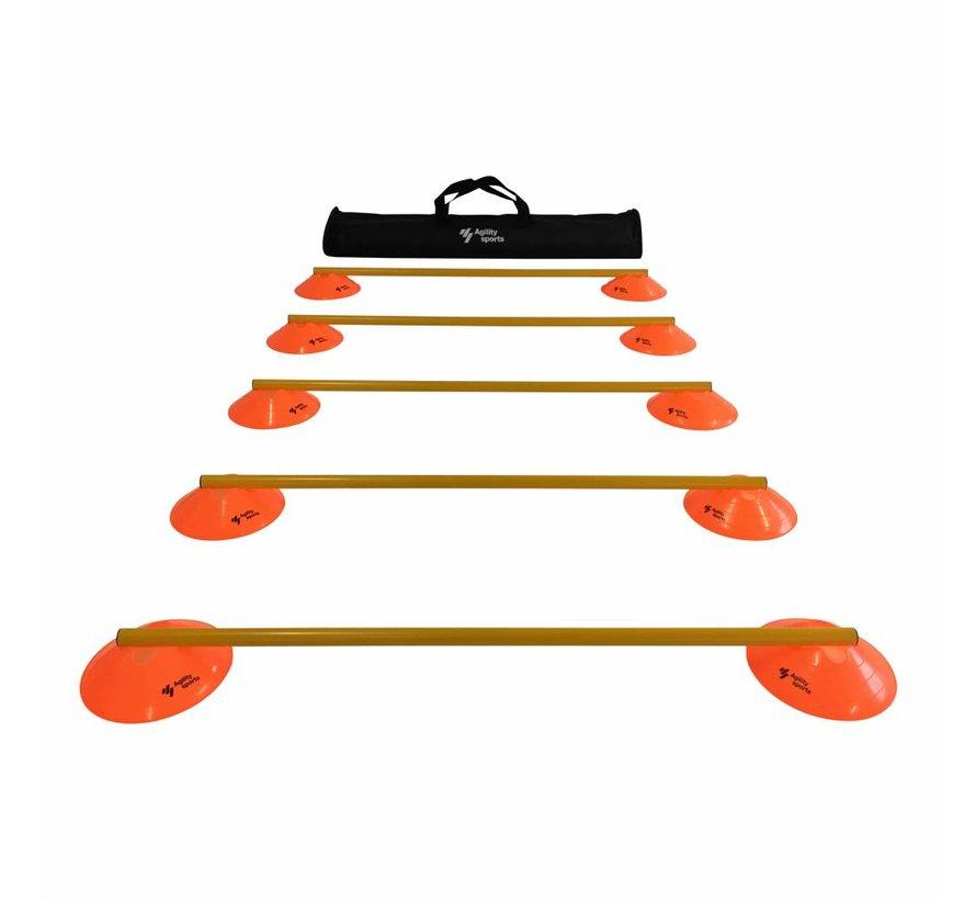 Horden Set - 5 Horden - Oranje