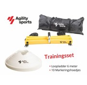 Agility Sports Trainingsset wit 6 meter