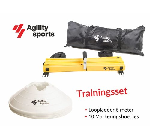 Agility Sports Trainingsset wit