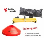 Agility Sports Trainingsset Rood 6 meter