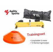Agility Sports Trainingsset Oranje 6 meter