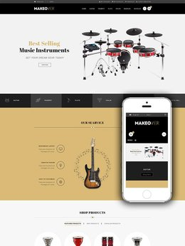 Makeover Responsive Music