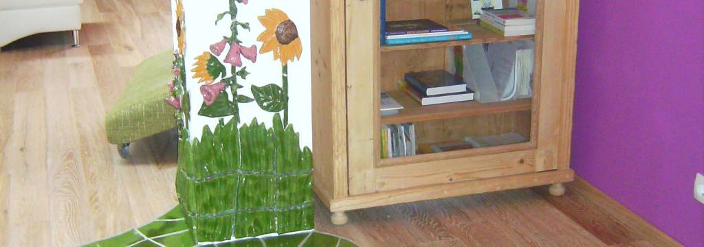 Dekoideen, Kermik Blumenwiese