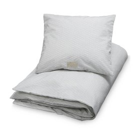 CamCam  DEKBEDSET GREY WAVE