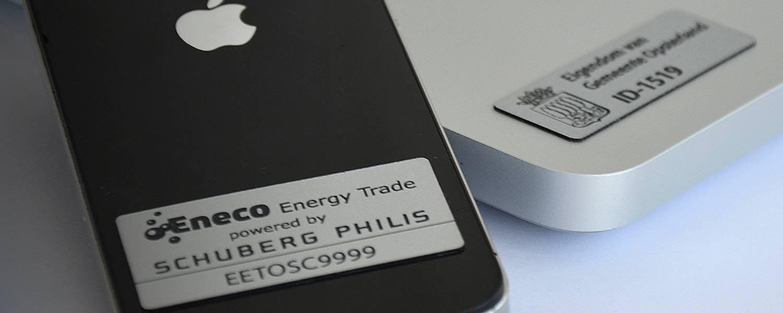 Permanent markeren met SecuMarker labels