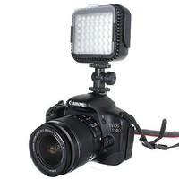 LED Video Lamp voor Canon & Nikon camera