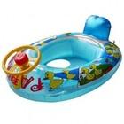 Baby/kinder opblaasbootje met toeter