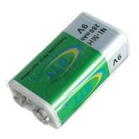 9V oplaadbare 280mAh blokbatterij