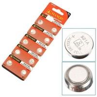 10x Alkaline knoopcel batterijen