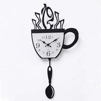 Koffietijd klok
