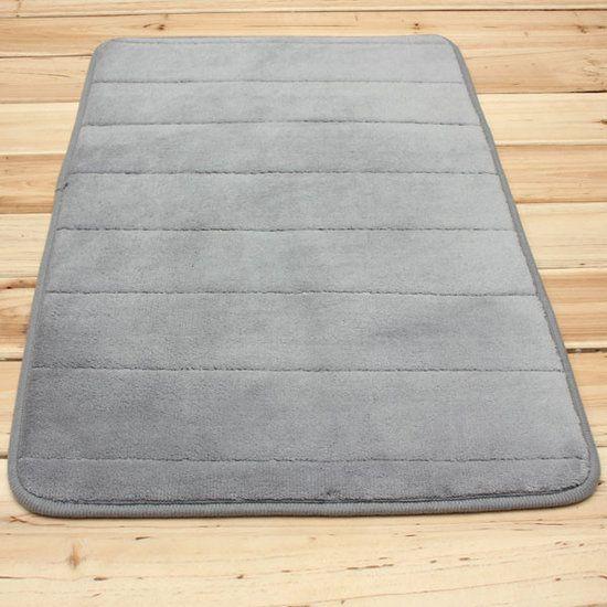 Micro-suede keuken/badkamer mat - DiscountStunter