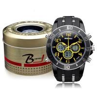 BISTEC Silicone heren horloge