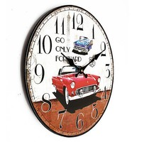Auto klok vintage style
