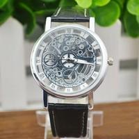 Mechanisch doorzichtige horloge