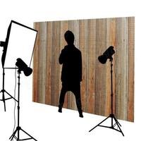 Houtkleur achtergronddoek voor fotostudio