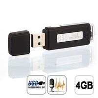 4GB spionage voicerecorder/ memo recorder